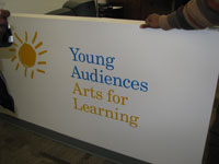 Young Audiences Arts for Learning Banner