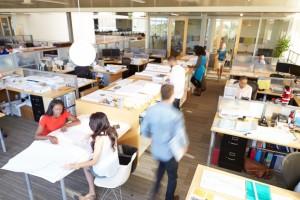 open desk configurations