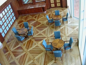 traditional furniture hotel lobby