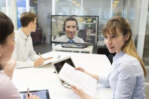 Office Furniture and Equipment for Better Video Conferencing